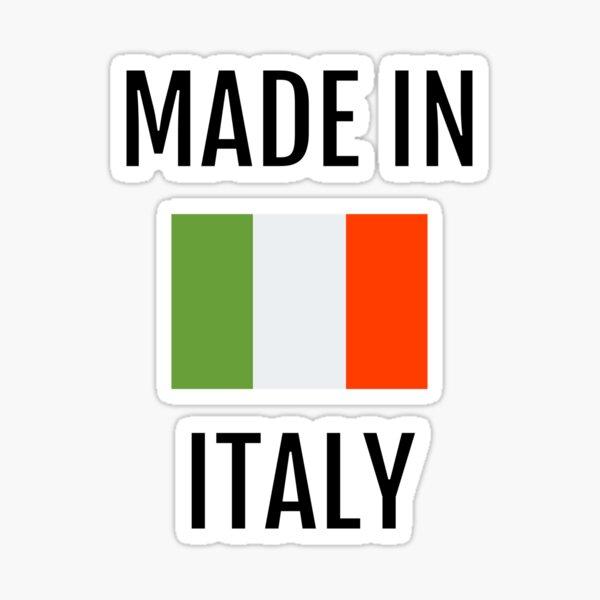 Made in Italy - Italian Flag Sticker