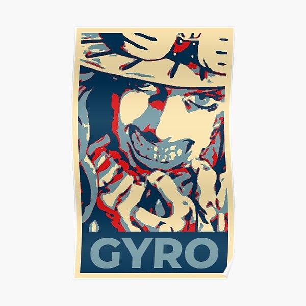Jojos Gyro Zeppeli Poster