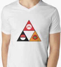 Nintendo-force Men's V-Neck T-Shirt
