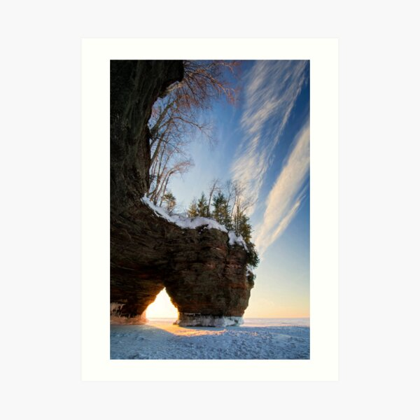 That time of Day, Apostle Islands,WI Art Print