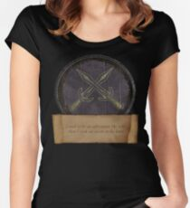 Took an arrow to the knee Women's Fitted Scoop T-Shirt