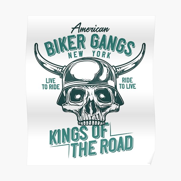 Biker Gangs Poster