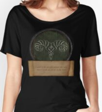 Took an arrow to the knee Women's Relaxed Fit T-Shirt