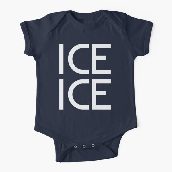 Ice Ice Short Sleeve Baby One-Piece