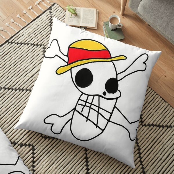 Pirate logo Floor Pillow