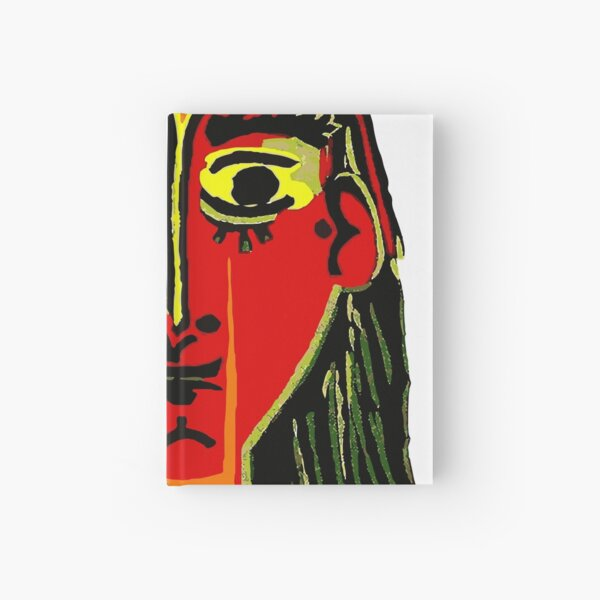 Pablo Picasso Woman In A Hat 1962 T Shirt, Artwork, tshirt, tee, jersey, poster, artwork Hardcover Journal