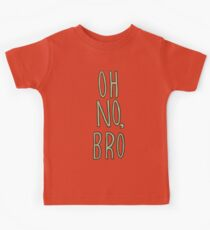 Regular Show / Oh no, Bro Tee Kids Tee