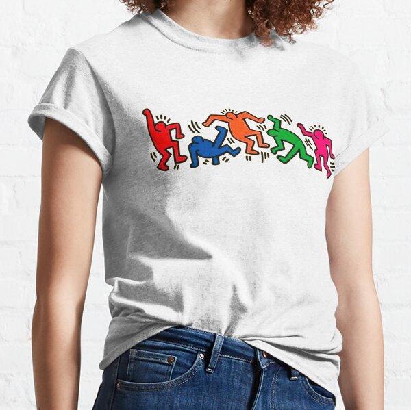 dancing together pop art Classic T-Shirt