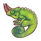 Jackson's Chameleon by cargorabbit