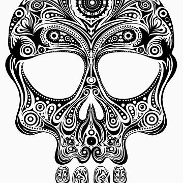 Skullsley - black by JoeAngelillo