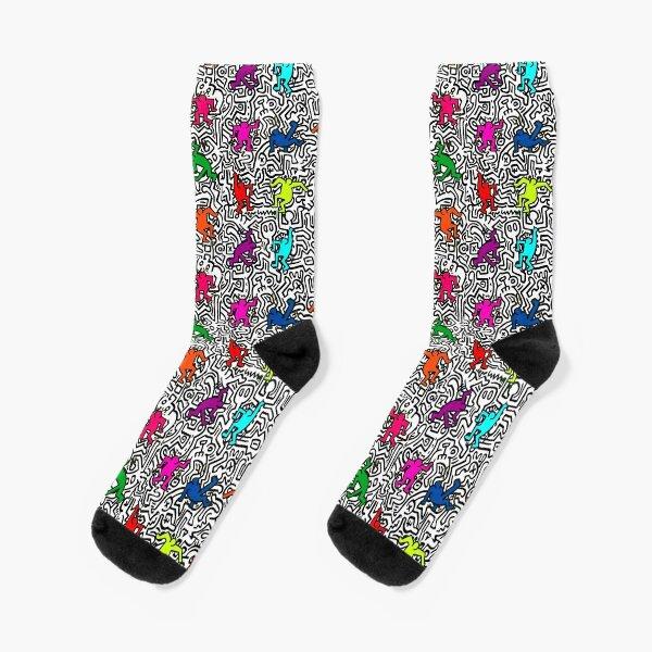 dancing colors Socks