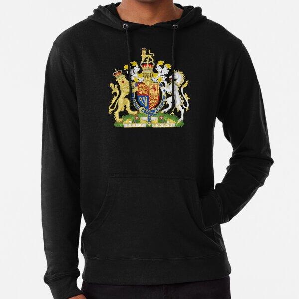 UK royal coat of arms Lightweight Hoodie