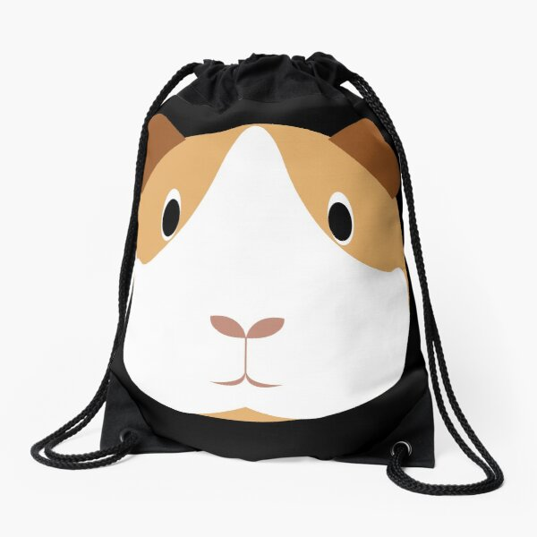 Drawstring Backpack Cute Guinea Pig Bags