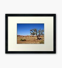 Sossusvlei landscape, Namibia, Africa Framed Print