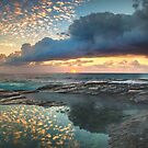 Impact on the Shore by Mark  Lucey