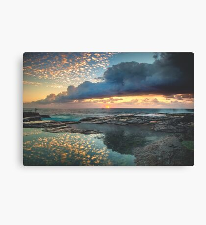 Impact on the Shore Canvas Print