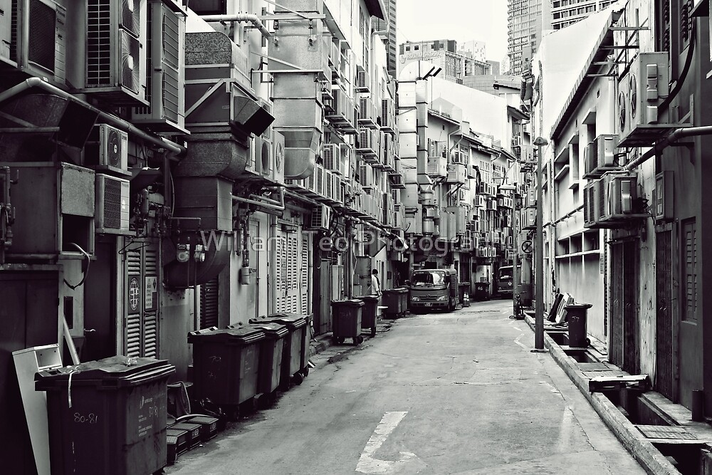 Fine Art Photography Singapore - Alley by William  Teo Photography