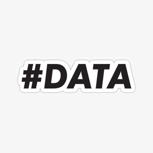#DATA Sticker