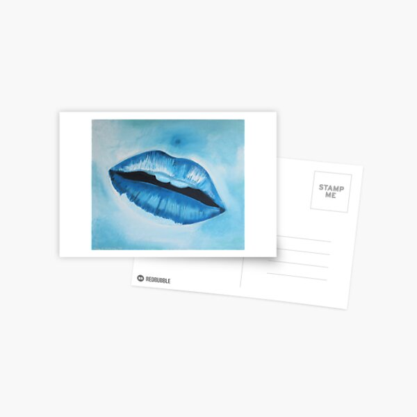 Ice Cold Lips Postcard