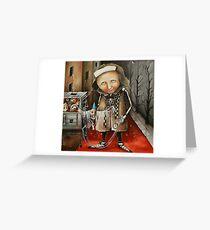 Thief Of Dreams Greeting Card