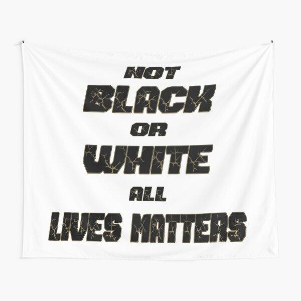 Not black or white Tapestry