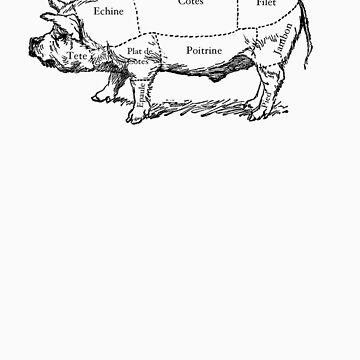 Le Porc Du Jour by flaxans