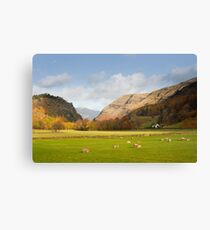 Scenic landscape from the A591 at Legburthwaite Canvas Print