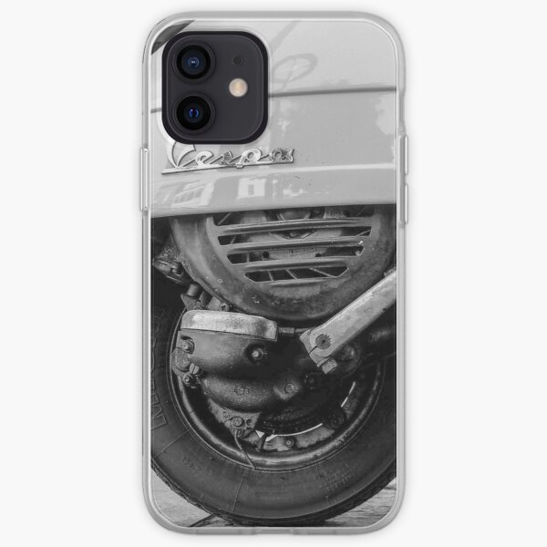 Vespa scooter iPhone Soft Case