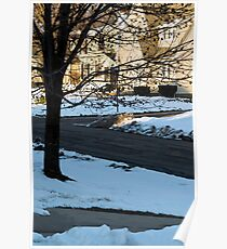 Snow in the Neighborhood Poster