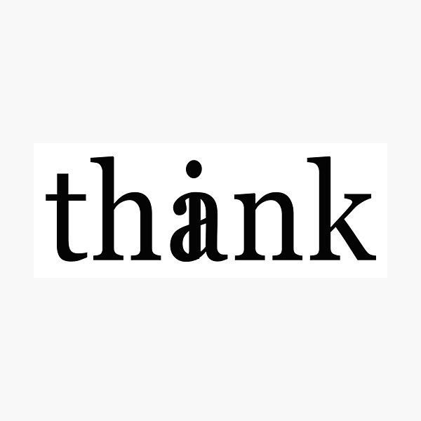 Think Thank Photographic Print