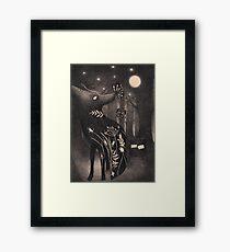 Howlite Framed Print