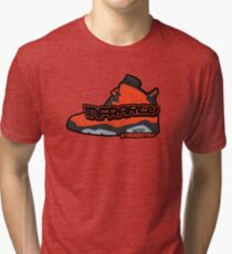 Infrared 6's Red Tri-blend T-Shirt