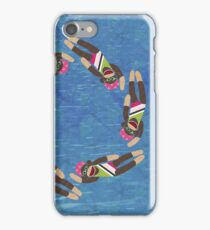 Sock Monkey Water Ballet iPhone Case/Skin