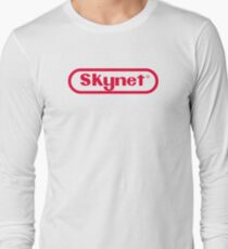 Skynet Entertainment System Long Sleeve T-Shirt
