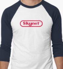 Skynet Entertainment System Men's Baseball ¾ T-Shirt