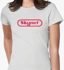 Skynet Entertainment System Women's Fitted T-Shirt