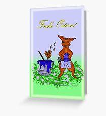 Farbtopf Greeting Card