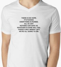 There Is No Hope Men's V-Neck T-Shirt