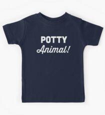 Potty Animal Kids Tee