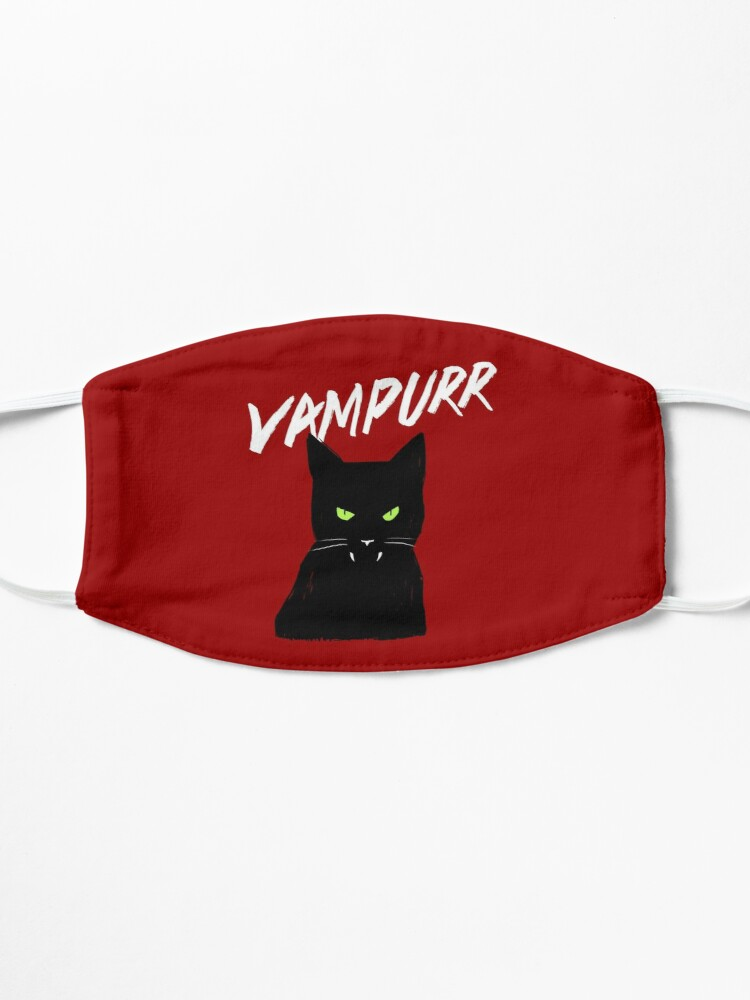 Alternate view of Vampire Cat | Vampurr Halloween Kitty Mask