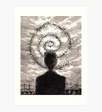 Carcosa's Spiral Art Print