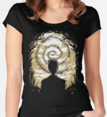 Carcosa's Spiral Women's Fitted Scoop T-Shirt