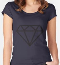 Black Diamond Women's Fitted Scoop T-Shirt