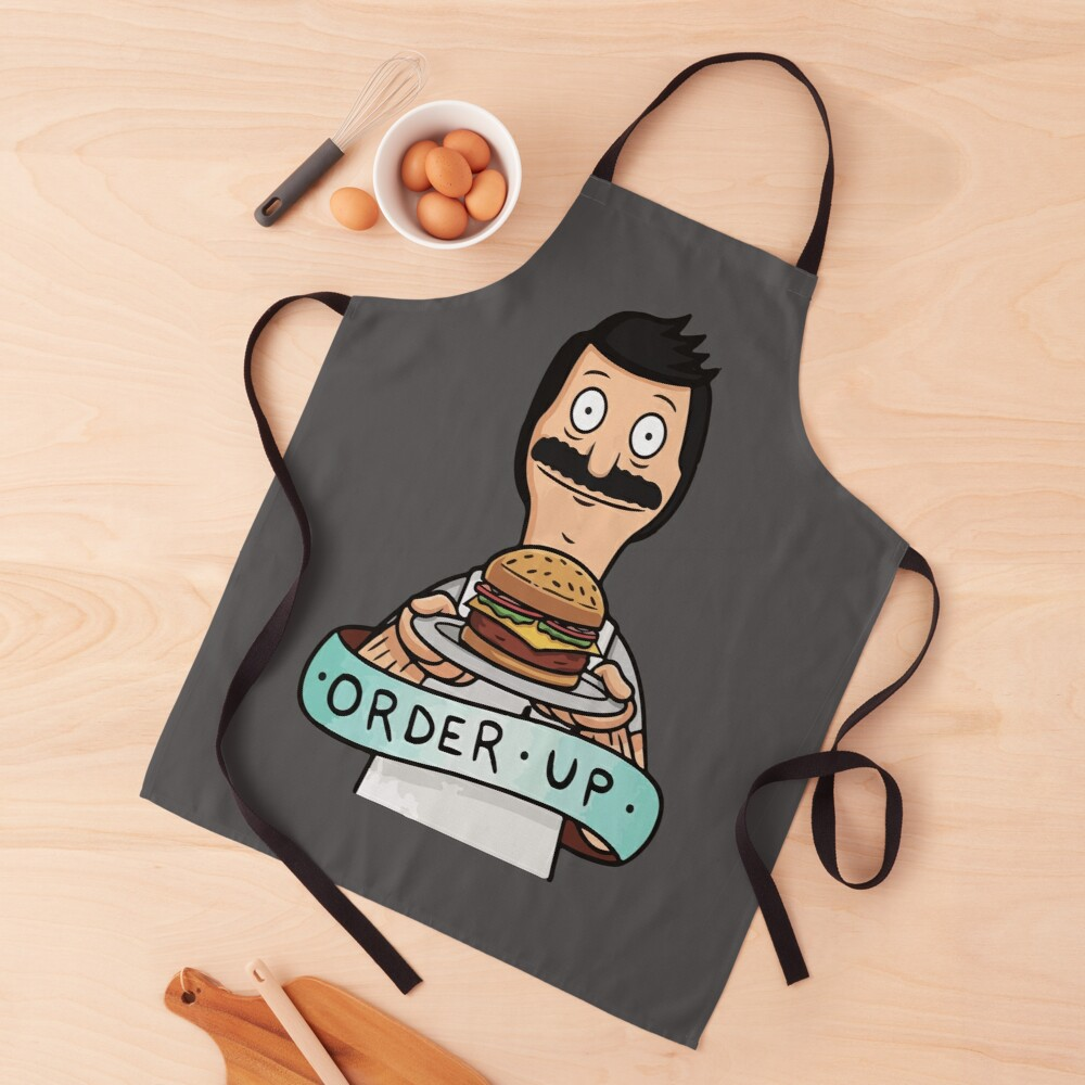 order your favorite burger sticker Apron