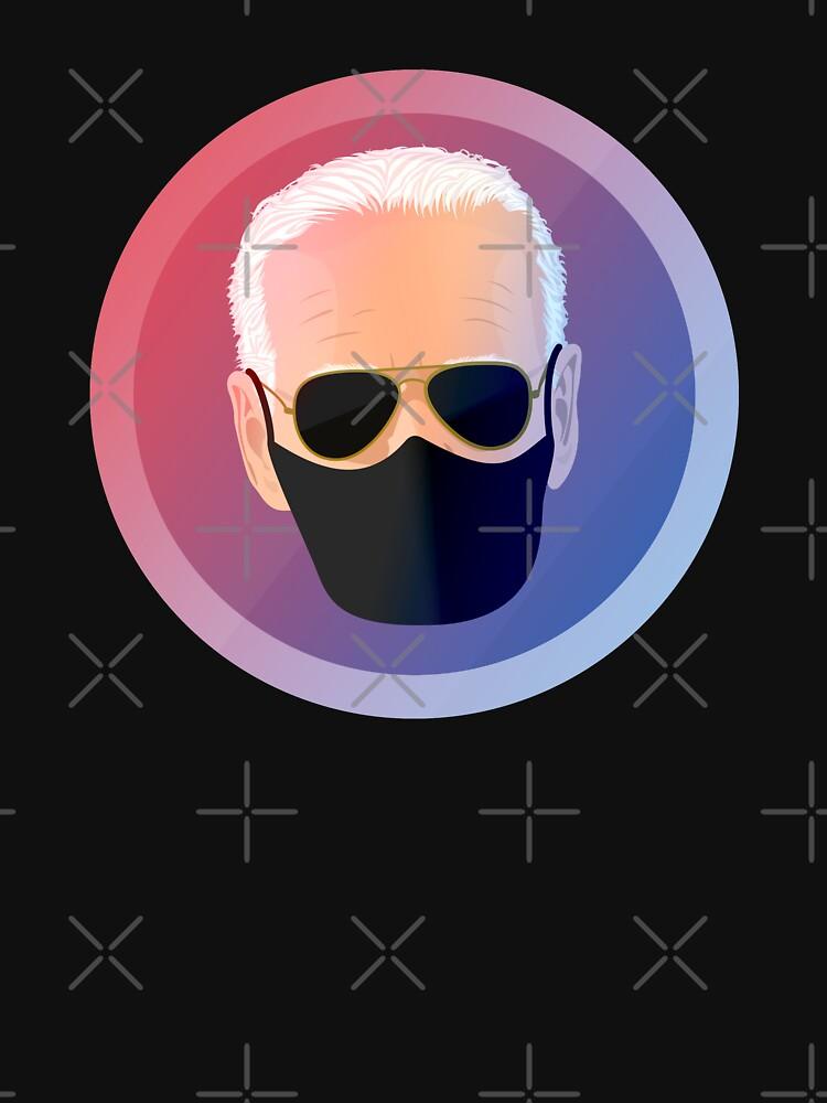 Joe Biden with Mask Seal by PopArtClub