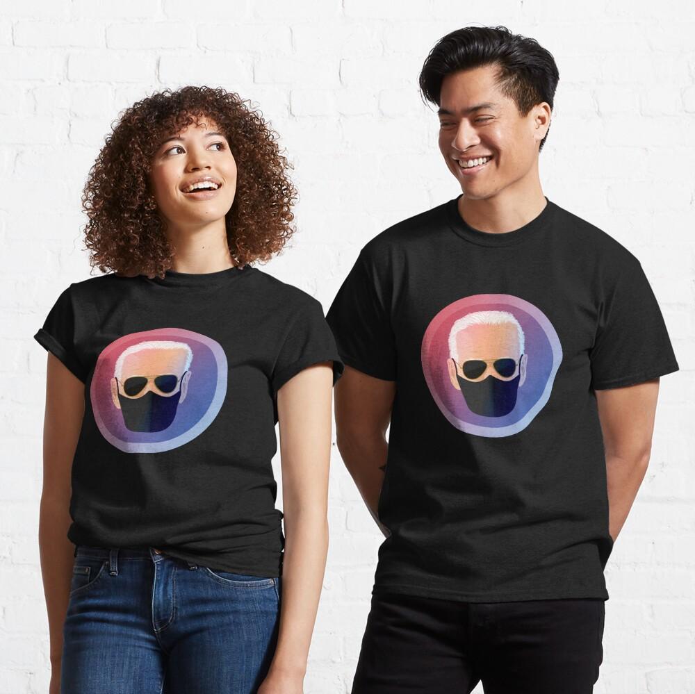 Joe Biden with Mask Seal Classic T-Shirt
