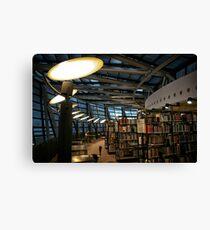 Library Dortmund Canvas Print