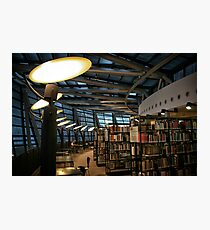 Library Dortmund Photographic Print