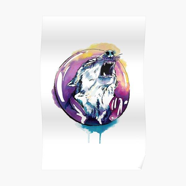 Le hurlement du loup Poster