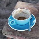Coffee in blue by Marlene Hielema